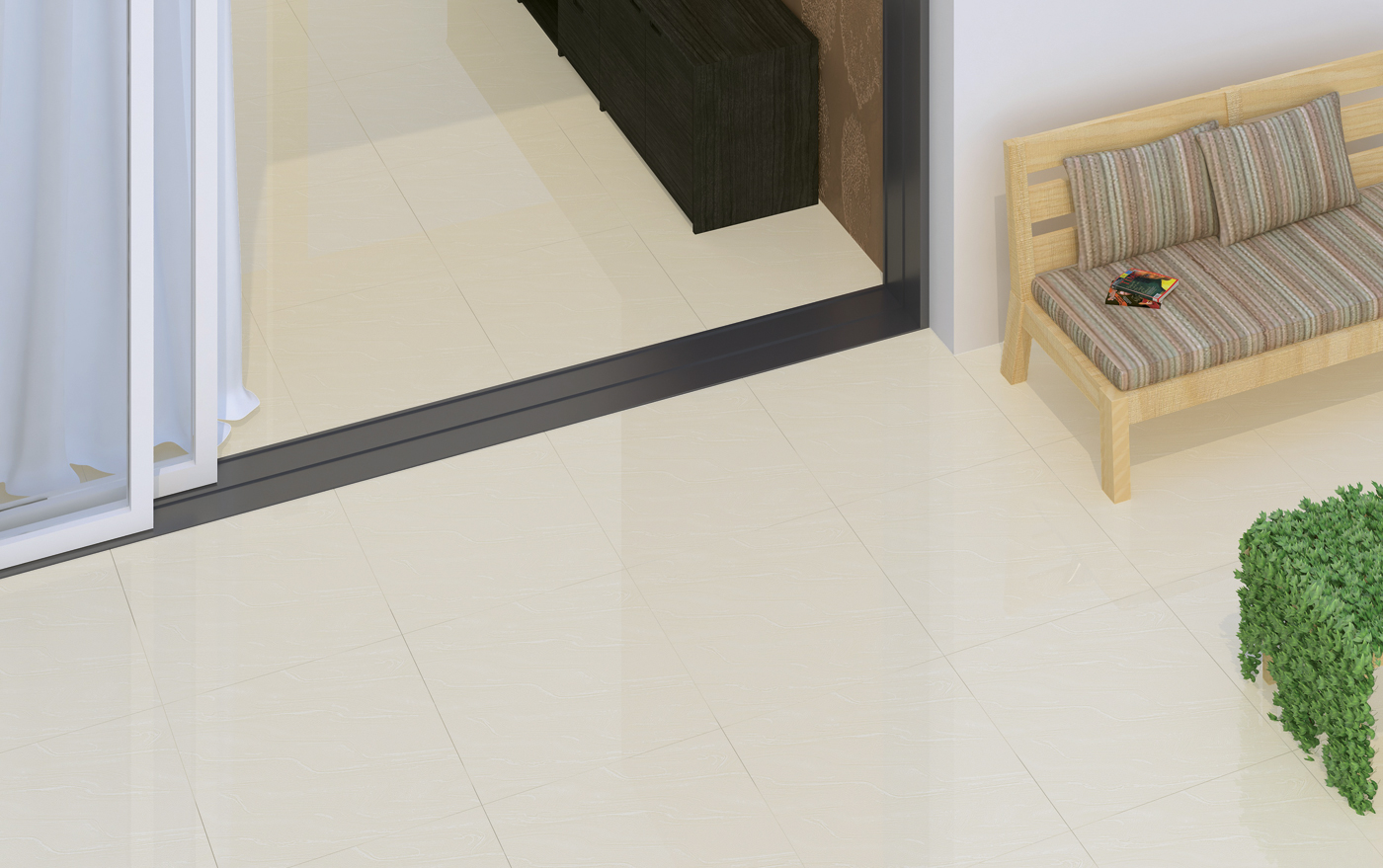 Nano Soluble Salt Vitrified Tiles